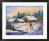 Framed After the Sleigh Ride