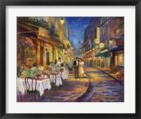 Framed Paris Romance
