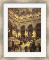 Framed Le Couloir de L'Opera