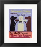 Framed Three Lab Bakery