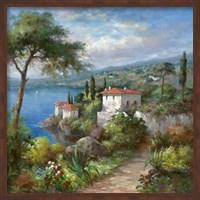 Framed Villa Flora II