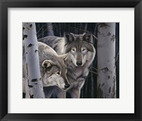 Framed Wolves