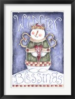 Framed Winter Blessing