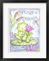 Framed Spring is Sprung