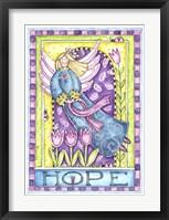 Framed Breast Cancer Awareness: Hope Angel