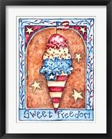 Framed Sweet Freedom