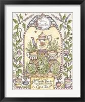 Framed Tea Garden