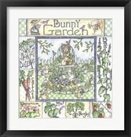 Framed Bunny Garden
