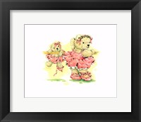 Framed Ballerina Bears, I