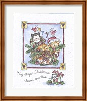 Framed May All Your Christmas Dreams Come True