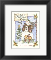 Framed May The Spirit Of Christmas Be Yours