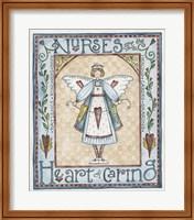 Framed Heart Of Caring