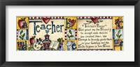 Framed Teacher's Prayer
