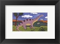 Framed Dippy the Diplodocus