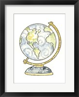 Framed School Globe
