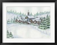 Framed Country Setting Winter