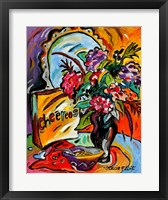 Framed Flowers And Cheereos