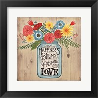 Framed Home Filled With Love