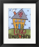 Framed Love Lives Here