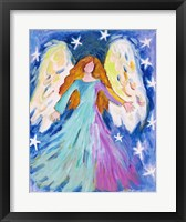 Framed Vibrant Angel