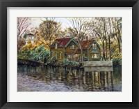 Framed Northville Victorian By Lake