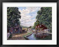 Framed Summer on the Morris Canal