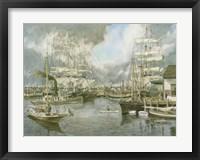 Framed Generic Seaport