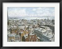 Framed Boston,  East From St. House 1876