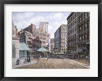 Framed Scolray Sq., c.1898