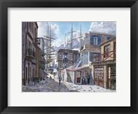 Framed St. Of The Tall Ships