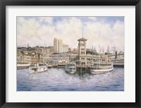 Framed Coleman Docks, c.1911
