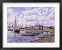 Framed Banning Wharf, c. 1880