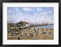 Framed Mcfadden Wharf, CA, c.1900
