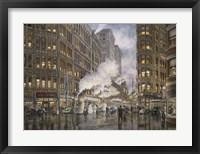 Framed 20Th Century Ltd. At Syracuse NY, Washington And Wharf Sts., c.1936