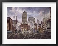 Framed 20Th Century Ltd., Leaving Chicago