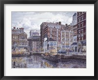 Framed Tugboats And Tenements