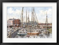 Framed Crowded Dock