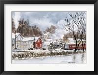 Framed Winter Travel