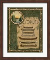 Framed Canoes