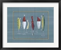 Framed Fishing Hooks 1