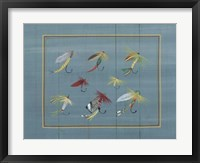 Framed Fishing Hooks 2