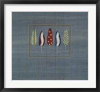 Framed Fishing Hooks 3