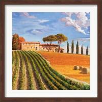 Framed Colline Toscane (Detail)