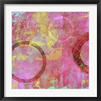 Framed Circle Carnival I