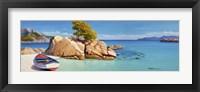 Framed Cala Smeraldo