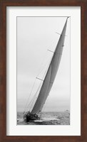 Framed Sailboat Racing, 1934 (Detail)