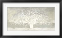 Framed White Tree