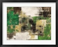 Framed Dream in Green