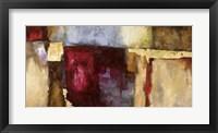 Framed Rosso Fiorentino