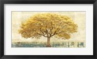 Framed Gilded Oak